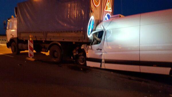 Авария на МКАД - Sputnik Беларусь