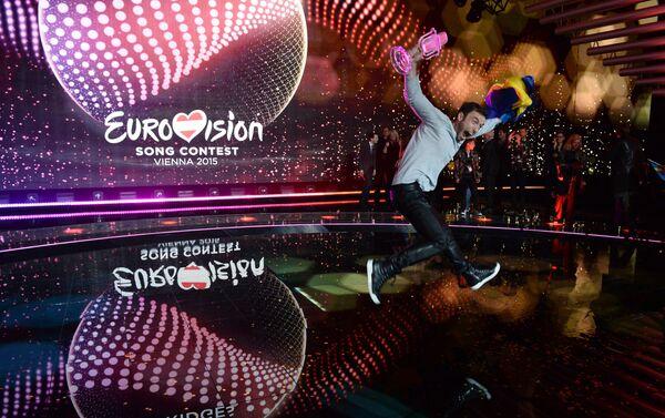 Победитель Евровидения 2015 Монс Зелмерлев (Швеция) - Sputnik Беларусь