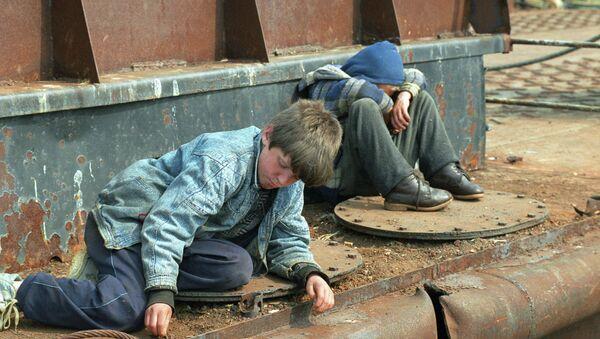 Беспризорные дети - Sputnik Беларусь