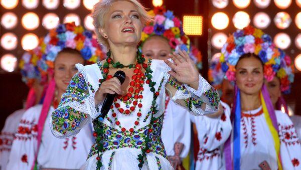 Аксана Пякун (Украіна), архіўнае фота - Sputnik Беларусь