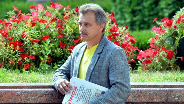 Экс-лидер ОГП Анатолий Лебедько - Sputnik Беларусь