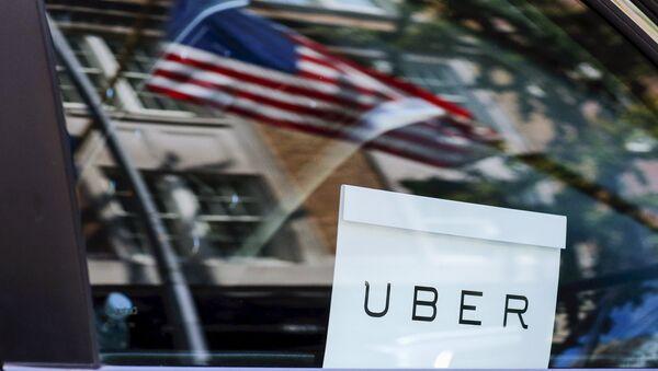 Таксі Uber у ЗША - Sputnik Беларусь
