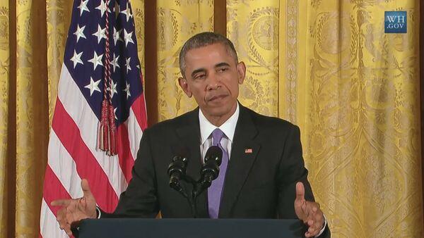 СПУТНИК_Обама объяснил, чего удалось достичь соглашением по иранской ядерной программе - Sputnik Беларусь