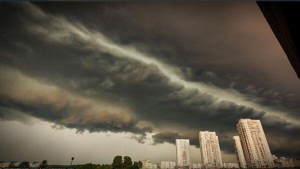 Хмара над Мінскам, архіўнае фота - Sputnik Беларусь