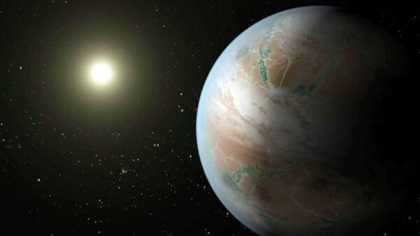 СПУТНІК_Як выглядае стрыечная сястра Зямлі Kepler 452b з сузор'я лебедзя. Анімацыя НАСА - Sputnik Беларусь