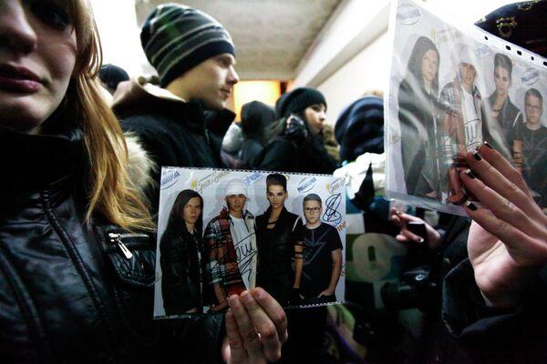 Прыхільнікі гурта Tokio Hotel - Sputnik Беларусь