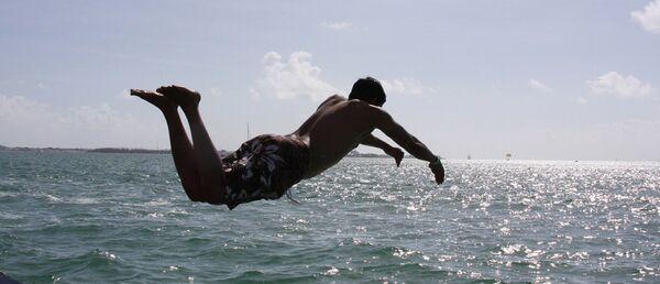 Прыжок в воду - Sputnik Беларусь