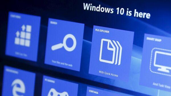 Интерфейс Windows 10 - Sputnik Беларусь