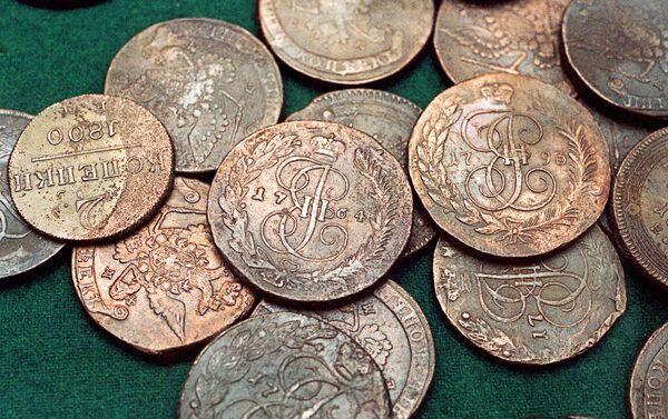 Старинные монеты из клада - Sputnik Беларусь