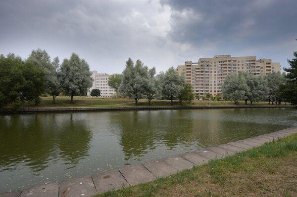 Набережная, где раньше в Минске было расположено капище - Sputnik Беларусь