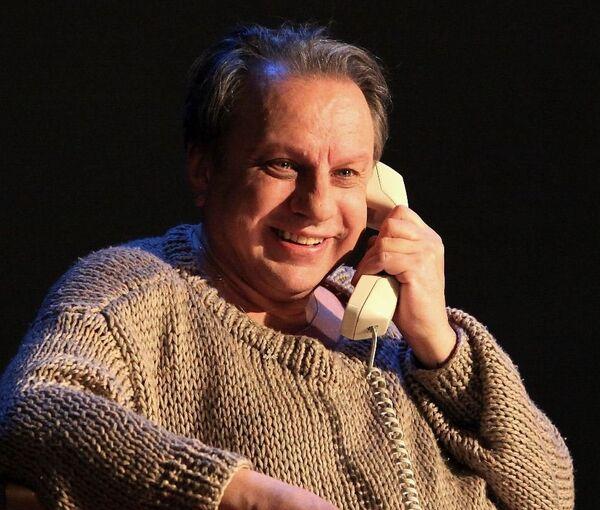 Сергей Журавель в спектакле Местачковае кабарэ - Sputnik Беларусь