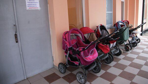Детские коляски, архивное фото - Sputnik Беларусь