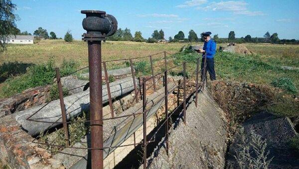 Место гибели 8-летнего мальчика в Рогачевском районе - Sputnik Беларусь