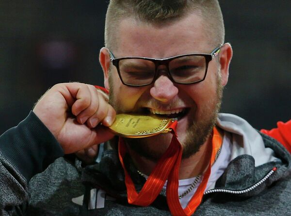 Чемпион мира по метанию молота Павел Файдек - Sputnik Беларусь