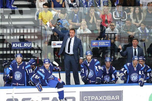 По словам Любомира Поковича, его команда старалась, но 2 гола от рижан стали решающими  - Sputnik Беларусь