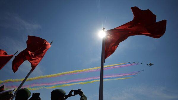 Флаги Китая, архивное фото - Sputnik Беларусь