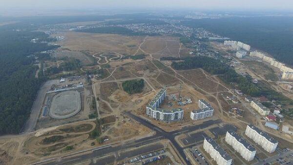 Место строительства дома класса доступный комфорт - Sputnik Беларусь