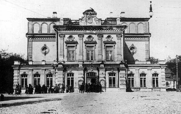 Здание Белорусского драматического театра в конце XIX века, архивное фото - Sputnik Беларусь
