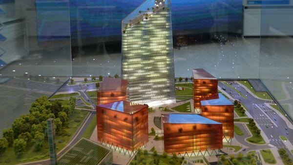 Проект комплекса Газпром - Sputnik Беларусь