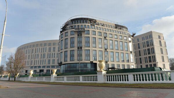 Строительство Кемпински - Sputnik Беларусь
