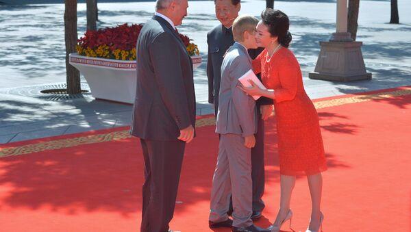 Візіт Лукашэнка ў КНР - Sputnik Беларусь