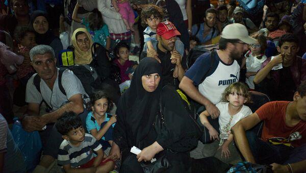 Беженцы с Ближнего Востока - Sputnik Беларусь