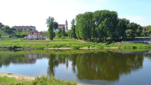 Вид на Неман в Гродно - Sputnik Беларусь