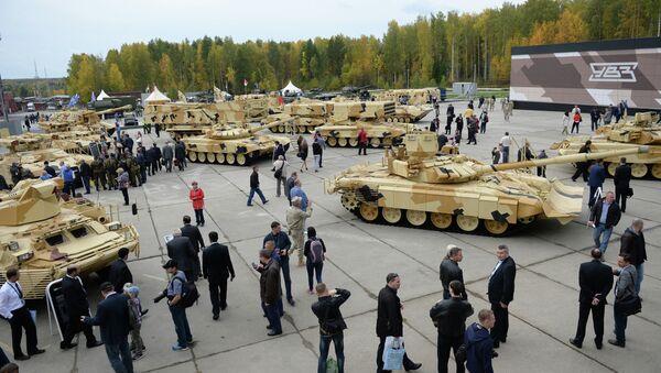 Открытие 10-й международной выставки Russia Arms Expo - Sputnik Беларусь