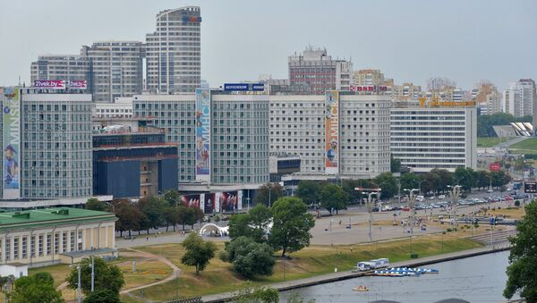 Минск. Вид сверху - Sputnik Беларусь