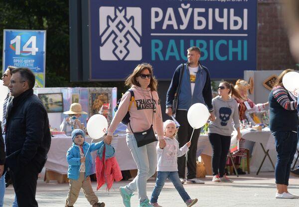 Фестиваль Гонка легенд — звезды биатлона за мир - Sputnik Беларусь
