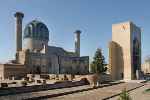Гур-Эмир, мавзолей Тамерлана в Самарканде - Sputnik Беларусь