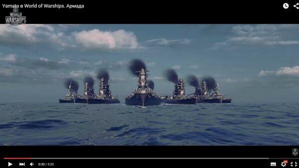 Официальное видео игры Warld of Warships - Sputnik Беларусь