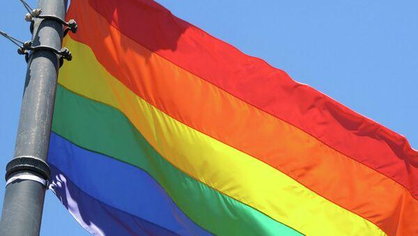 Радужный флаг - символ сексменьшинств - Sputnik Беларусь