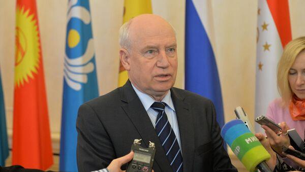 Глава Исполкома СНГ Сергей Лебедев - Sputnik Беларусь