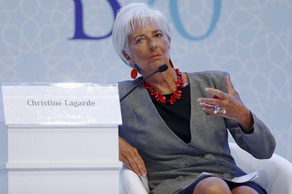 Глава МВФ Кристин Лагард - Sputnik Беларусь