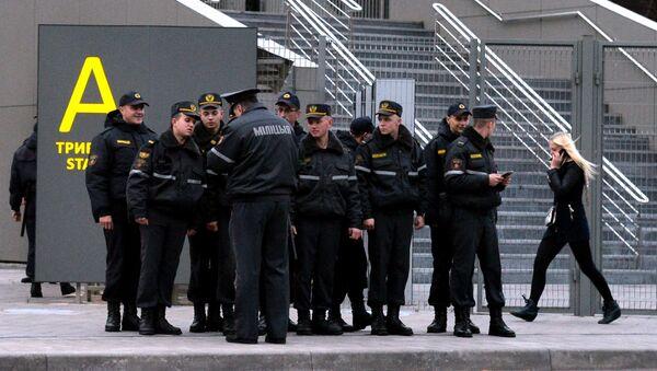 Борисов-Арена. Инструктаж перед матчем БАТЭ-Рома - Sputnik Беларусь