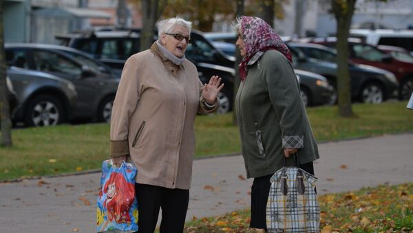 Беларускія пенсіянеркі - Sputnik Беларусь