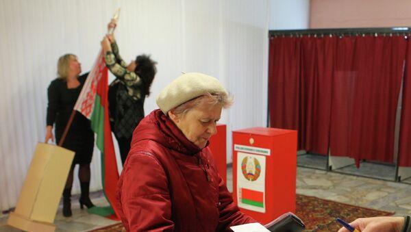 Выборы в Беларуси - Sputnik Беларусь