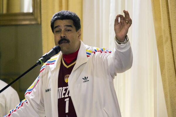 Президент Венесуэлы Николас Мадуро - Sputnik Беларусь