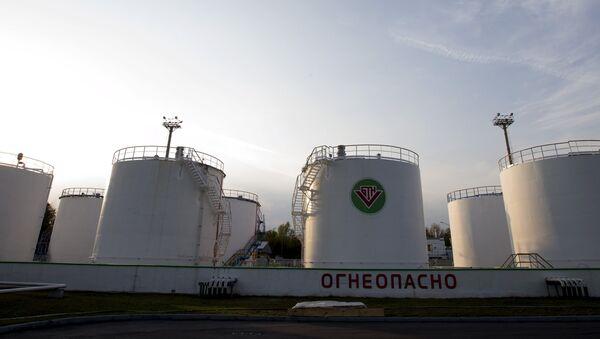Нефтехранилище в Мозыре - Sputnik Беларусь
