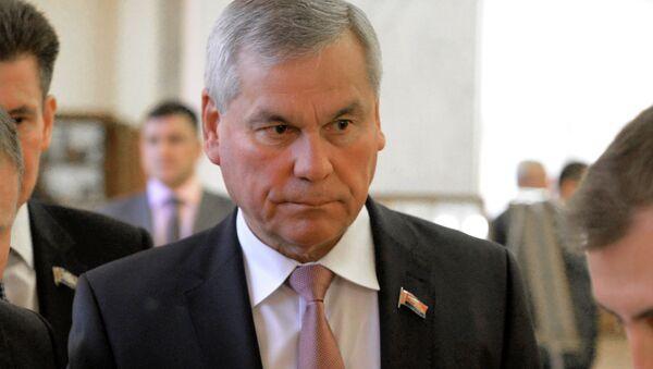 Владимир Андрейченко на открытии осенней сессии нижней палаты белорусского парламента  - Sputnik Беларусь