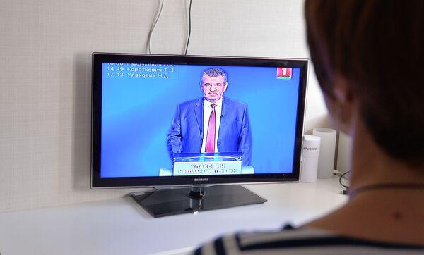 Выступление Николая Улаховича на теледебатах - Sputnik Беларусь
