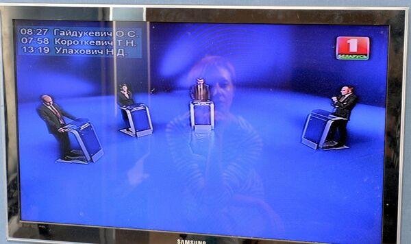 Трансляция дебатов на телевидении - Sputnik Беларусь
