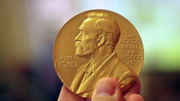 Медаль, які атрымлівае Нобелеўскі лаўрэат - Sputnik Беларусь