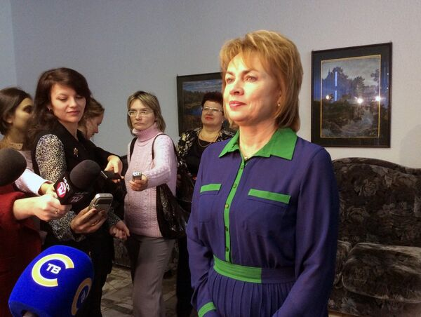 Глава избирательного штаба Александра Лукашенко Марианна Щеткина - Sputnik Беларусь