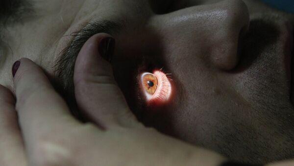 Исследование глаза - Sputnik Беларусь