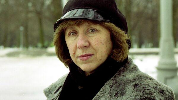 Светлана Алексиевич, архивное фото - Sputnik Беларусь