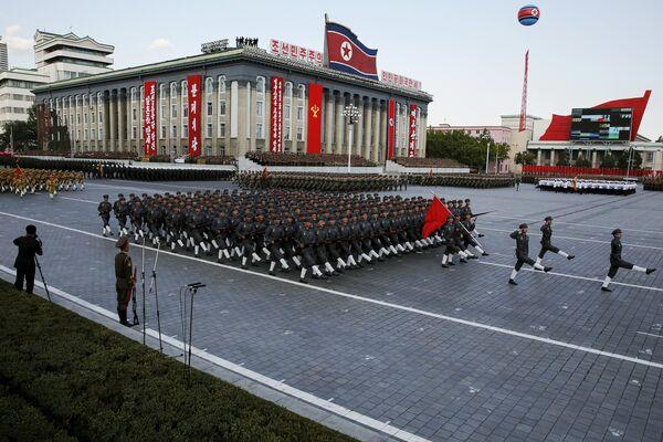 Парад в Пхеньяне - Sputnik Беларусь