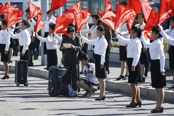 КНДР отмечает юбилей Трудовой партии - Sputnik Беларусь