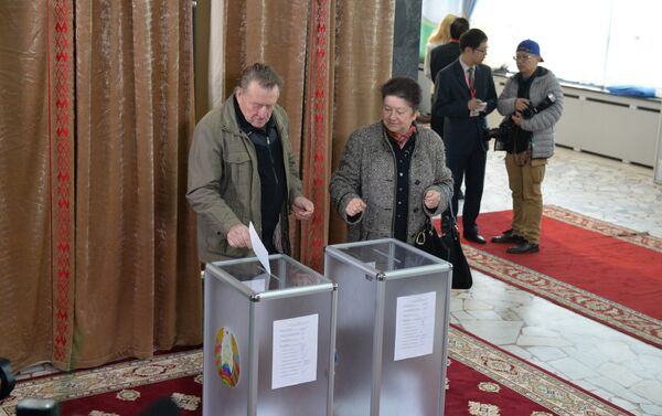 В Беларуси проходят выборы президента - Sputnik Беларусь
